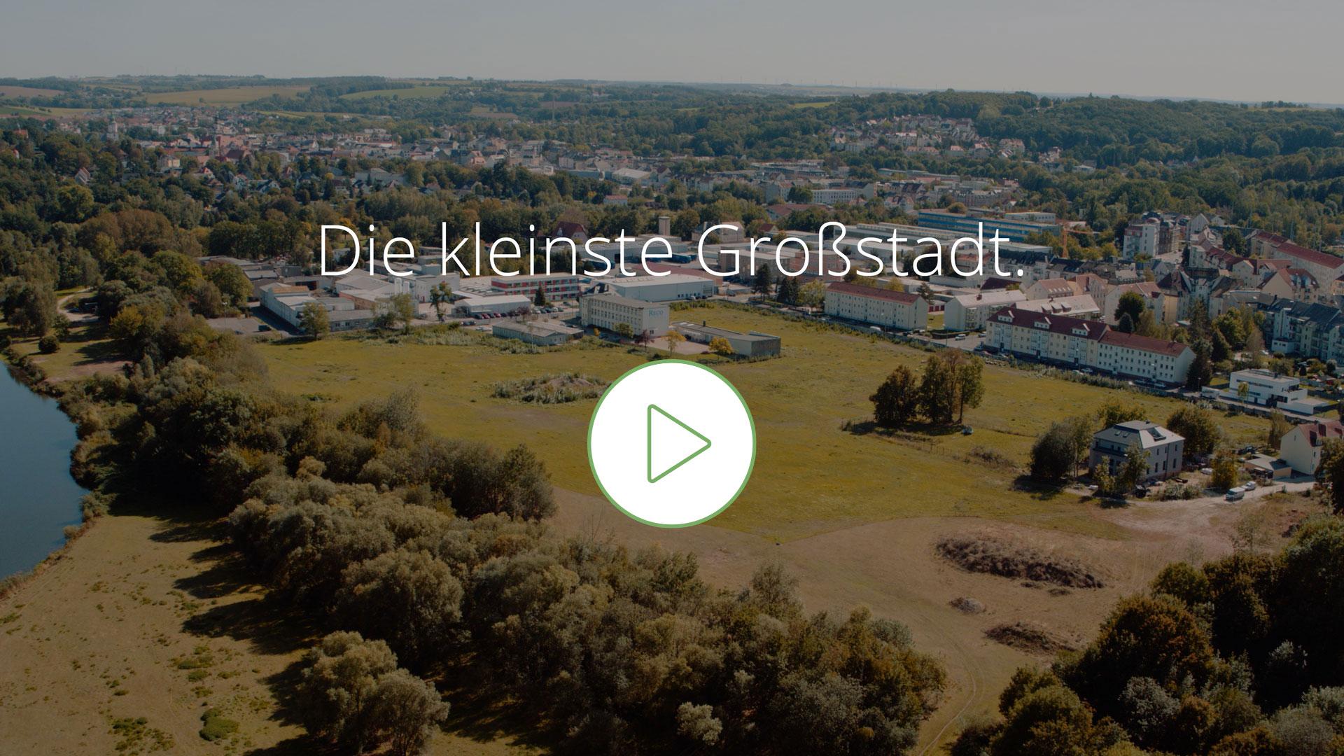 Sachsen | Döbeln - Luftaufnahme über das Baugebiet Walduferviertel