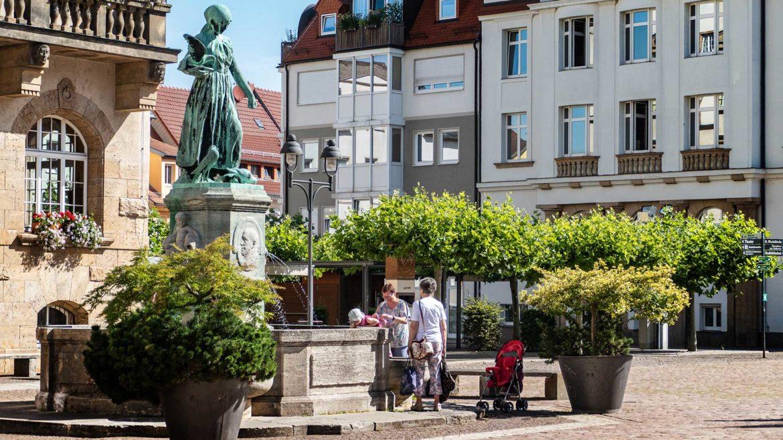 Sachsen - Döbeln - Altstadt