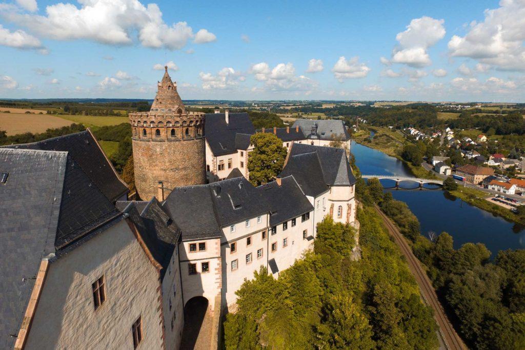 Sachsen   Leisnig Umland - Burg Mildenstein