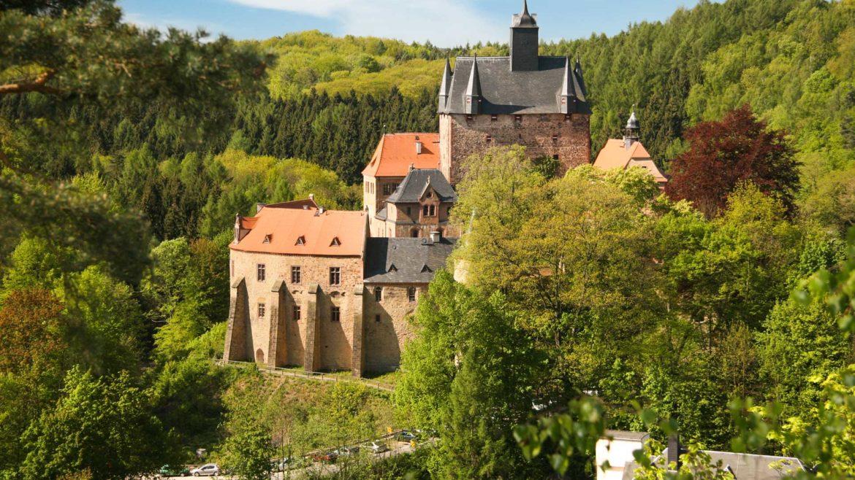 Sachsen | Kreis Döbeln | Burg Kriebstein
